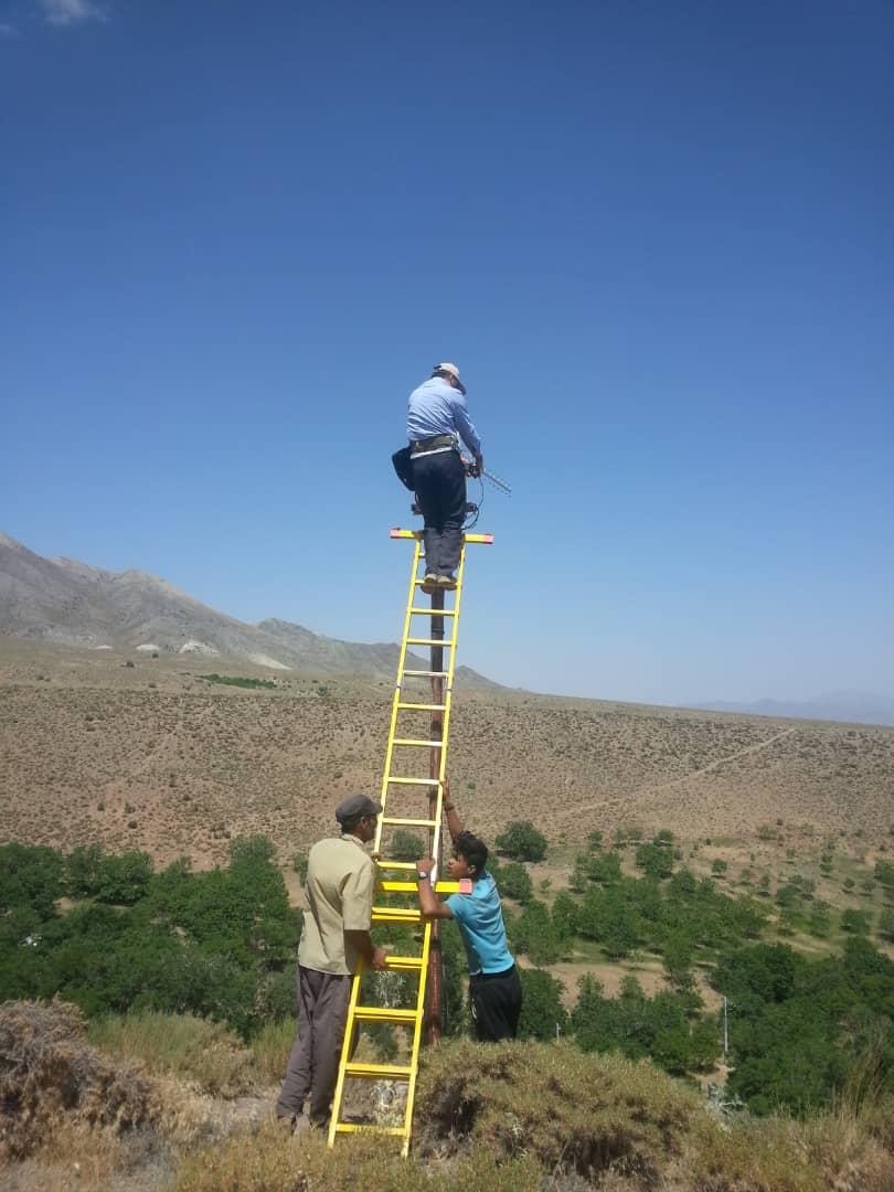 نصب و راه اندازی سیستم تقویت کننده  موبایل در پروژه  USO استان کرمان